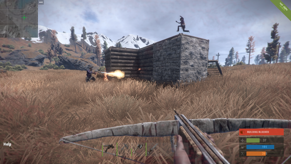 How to survive in your rust game with ease?